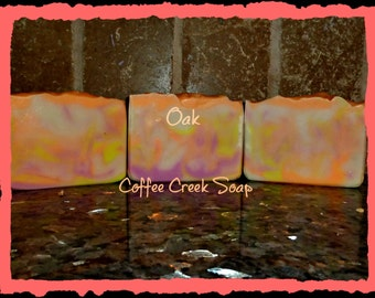 Oak natural soap