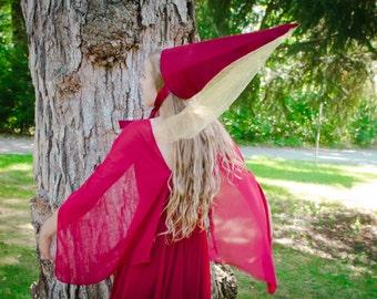 Medieval Princess Costume, Size Womans XXS,  Storybook Princess Costume, Princess Dress, Pointed Hat, Fairy Tale Princess Dress