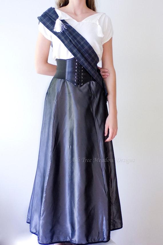 Highland Lass Dress, Scottish Highlands, Custom