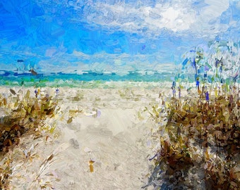 Destin Painting Print-Free Shipping