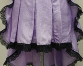 Custom for Liddy: Lavender Bustle Skirt
