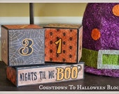 Countdown to Halloween Blocks
