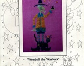 Mosey 'n Me: Wendell the Warlock (OOP) - Cross Stitch Pattern