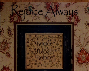 La-D-Da: Rejoice Always - Cross Stitch Pattern