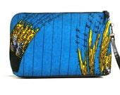 African Print Blue Handbag - Ankara print handbag, African fabric handbag, African print handbag, Ankara fabric handbag, blue fabric bag