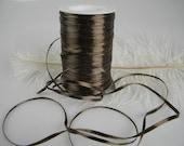 "Brown Raffia Ribbon - Shiny Brown - Wedding Decor Ribbon - Gift Tag Ribbon - Fall Autumn Party Craft Supply - 1/4"" - 100 yard spool"