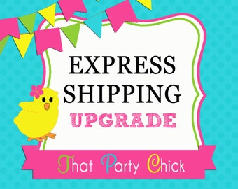 USPS Express Shipping Upgrade