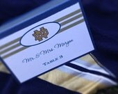 NFL Inspired Place Cards - Football Wedding - Sports Wedding