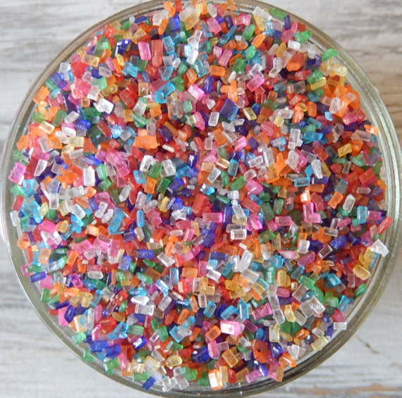 Decorate Cake Pops Sprinkles : Sprinkles 3 oz. Rainbow Mix Shiny Sugar Crystals For