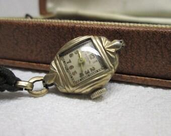 Imperial Ladies Watch, Art Deco, wind up watch, Jewelry, watch parts supplies