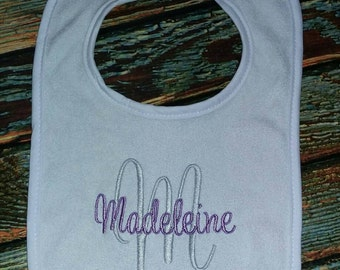 Personalized Baby Bib, baby shower gift, baby gift