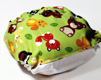 Woodland Baby Toss One Size Cloth Diaper, Reusable Cloth Diaper, One Size Cloth Nappy, One Size Pocket Cloth Diaper
