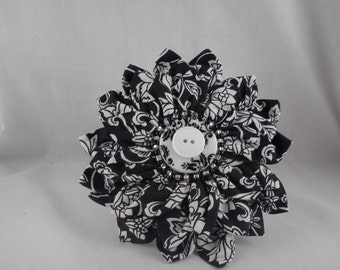 Flower petal hair accessory
