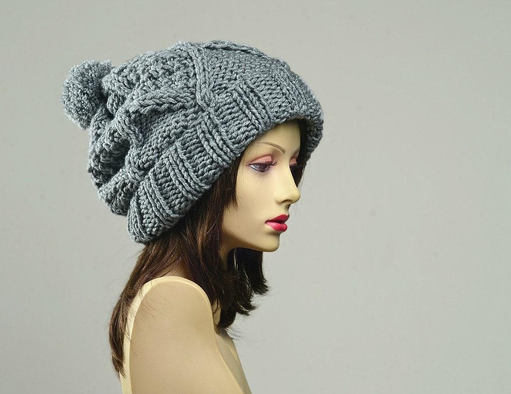 womens pom pom hat pom pom beanie winter hat womens hat