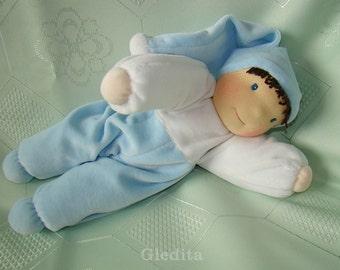 Waldorf Elf doll - waldorf doll - plush doll - soft doll - cloth doll