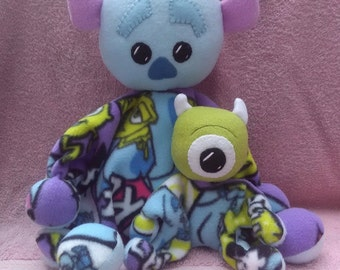 MONSTERS INC-Snuggle Bumble with buddy