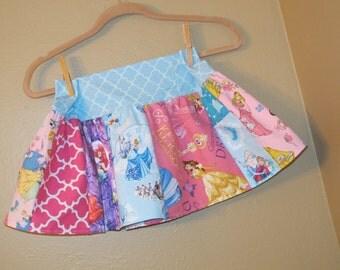 Every Princess skirt-  4t, 5t,  -ready to ship - Belle, Cinderella, Disney, Snow White,