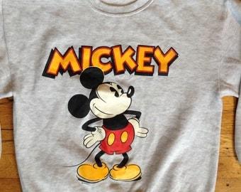 1980's Mickey Mouse sweatshirt USA L