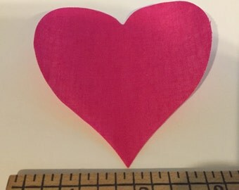 """3"""" Fusible Die Cut Appliqué Hearts"""