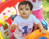 4th Of July Birthday Shirt,Personalized Forth Of July,Fireworks,This LiL Firecracker,This Little Fircracker is 1,It's My First Birthday