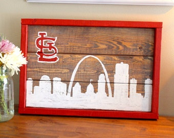 St Louis Cardinals Skyline
