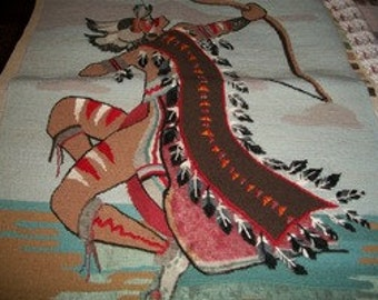 Indian Warrior Needlepoint Kit