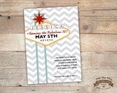 Las Vegas Sign Invitation, Vegas Theme Party Invite, Bachelorette, Bachelor, Wedding, Birthday Printable