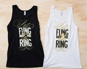 ON SALE Bachelorette Party Tank Tops | Last Fling Before the Ring