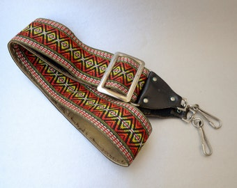 Awesome Vintage Hippie Strap Camera Strap- See our Huge Hippie Strap Collection