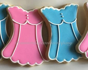 Corset Cookies 2 dozen