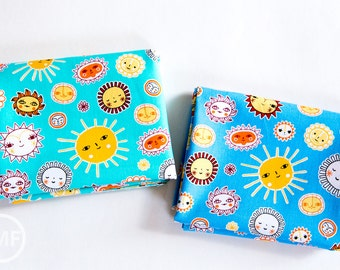 Little Senoritas Soleado Fat Quarter Bundle, 2 Pieces, Suzy Ultman, 100% Cotton, Robert Kaufman Fabrics, ASD-16536