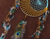 Vivid Moon Dream Catcher-Moon Motions Signature Moon Dream Catcher- Made to Order
