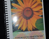 "NEW - 2016 ""Sunflowers!"" Spiral-Bound Planning Calendar with Laminated Cover"