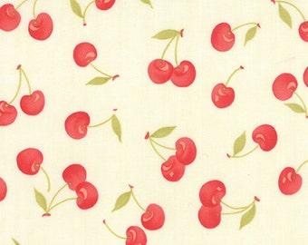 Farmhouse Cherries by Fig Tree for Moda