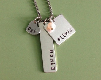 personalized family - necklace