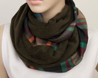 SALE-Infinity scarf ,Loop scarf ,gift for her,