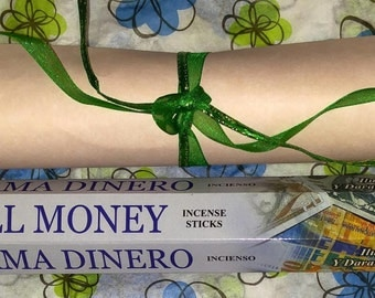 Prosperity Spell with Call Money Incense