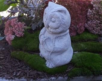 Concrete Buddha Owl
