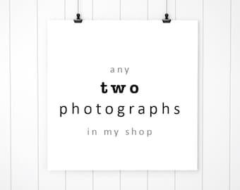 Discounted photography set of 2 photographs nursery art wall decor fine art photography prints  wall art, gallery wrap canvas print set