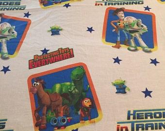Vintage Disney Toy Story Flat Sheet