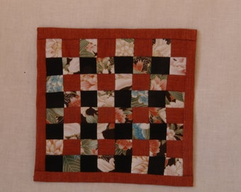 handmade dollhouse miniature 1:12 scale quilt