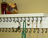 On Sale Jewelry Holder/ Necklace Holder/ Jewelry Organizer/ Necklace Storage/ Shabby