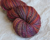 Handspun Yarn: International Rose Garden