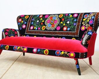 Suzani 3-seater sofa - July