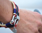 Men's Jewelry SALTI Nautical Bracelet '3rd Wave' FREE Worldwide Shipping Unisex (2 bracelets)