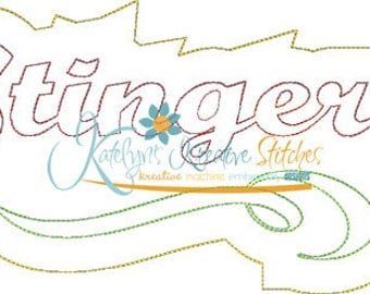 Stingers - Distressed Applique