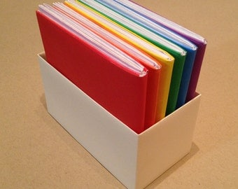 Origami Rainbow Books set of 6