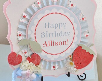 Girl's Sweet as Pie Birthday Sign