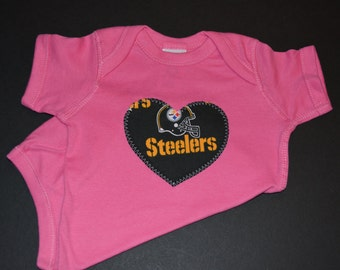 Steelers Baby - Steelers Outfit - Steelers Shirt - Baby Steelers - Pittsburgh Steelers