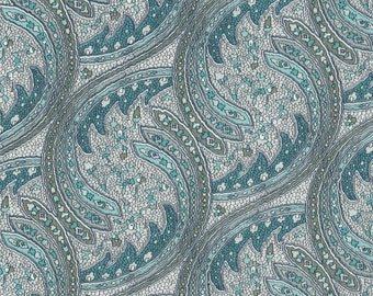 "Vintage Liberty Tana Lawn fabric DARNLEY - 17"" wide x 13"" (43cm x 33cm) - 1990s"